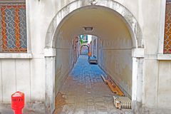 Túnel urbano fotografia de stock royalty free