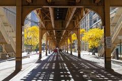 Túnel urbano de la ciudad del estilo Fotos de archivo libres de regalías