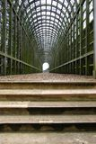 Túnel verde Imagem de Stock Royalty Free