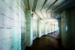 Túnel viejo Imagen de archivo libre de regalías