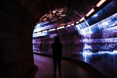 Túnel Vision Fotos de archivo libres de regalías