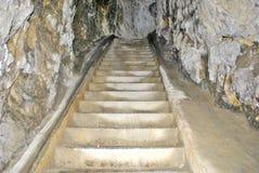 Túneles en roca Imagen de archivo