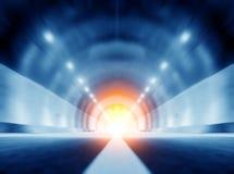 Túneles y coche Fotos de archivo libres de regalías