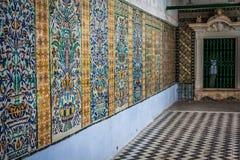 túnez Kairouan - el Zaouia de Sidi Saheb ( Fotos de archivo libres de regalías