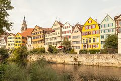 Tübinga, Allemagne photo libre de droits