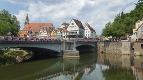 Tübingen Neckar fotos de archivo