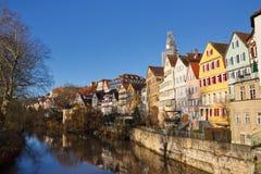 Tübingen am Neckar, Alemanha fotos de stock
