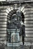 Tünde statue in Buda Castle Royalty Free Stock Photos