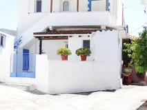 Tür achitecture Detail im Hotel, das Griechenland errichtet Stockfoto
