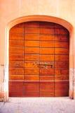 Tür Ancona Italien Lizenzfreie Stockfotos