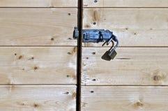 Tür aufgeschlossen Lizenzfreie Stockbilder