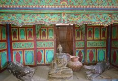 Tür bouddha Handwerk lizenzfreies stockfoto