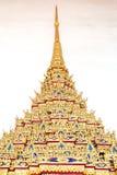 Tür-Dekoration in Wat Po Stockfoto
