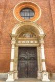Tür der Heiligen Maria Lizenzfreies Stockbild