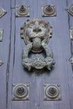 Tür der Kathedrale, Sonderkommando. Santiago de Compostela Stockfotos