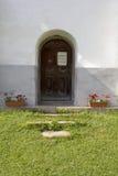 Tür in der Kirche Lizenzfreie Stockfotos