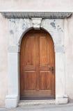 Tür in der Schweiz Stockfotografie