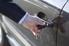 Tür des Autos lizenzfreie stockfotografie