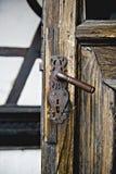 Tür des Kleie-Schlosses Stockfoto