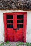 Tür des Mayahauses Stockfoto