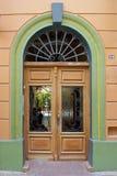 Tür des mexikanischen Wohnsitzes lizenzfreies stockbild