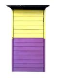 Tür des Tones zwei Farb Lizenzfreie Stockfotografie