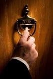 Tür, die zu 2008 führt Lizenzfreies Stockfoto