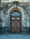 Tür in Dresden Lizenzfreie Stockbilder