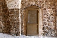 Tür - ein Loch in der Wand Lizenzfreies Stockfoto