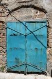 Tür - ein Loch in der Wand Stockfotos