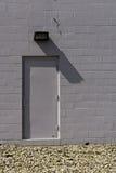 Tür in einer Wand Lizenzfreies Stockbild