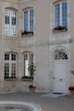 Tür eines Herrenhauses Lizenzfreies Stockfoto