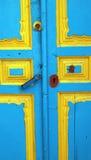 Tür eines rustikalen Dorfs von Andalusien Stockfoto