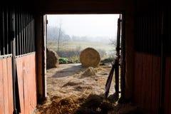 Tür eines Stalles Lizenzfreies Stockbild