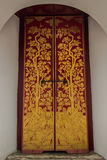 Tür am großartigen Palast Bangkok Thailand Lizenzfreie Stockfotografie
