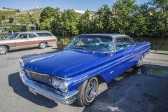 Tür-Hard-top 1960 Pontiacs Bonneville 2 Lizenzfreie Stockbilder