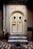 Tür im casbha von sousse in Tunesien Stockfotografie