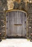Tür im Fort Stockbilder