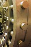 Tür im Raum der sicheren Ablagerung der Querneigung stockfotografie