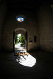 Tür-Kirche Stockbild