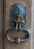 Tür-Klopfer Lizenzfreie Stockbilder