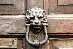 Tür-Klopfer Stockbild