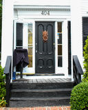 Tür-Klopfer zu Ristorante Marissa, Provincetown, MA Lizenzfreie Stockbilder