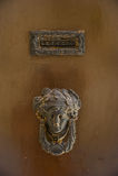 Tür-Knopf Stockfoto