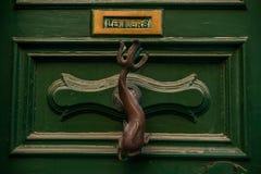 Tür-Knopf Stockfotografie