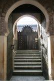 Tür in Marrakesch stockfotos