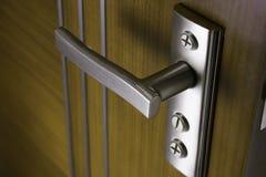 Tür mit Griff Lizenzfreies Stockfoto