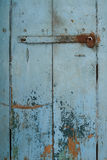 Tür mit Verschluss Stockbild