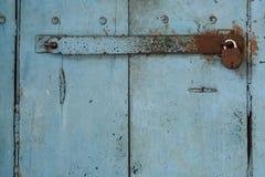 Tür mit Verschluss Stockbilder