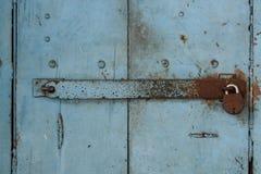 Tür mit Verschluss Stockfotos